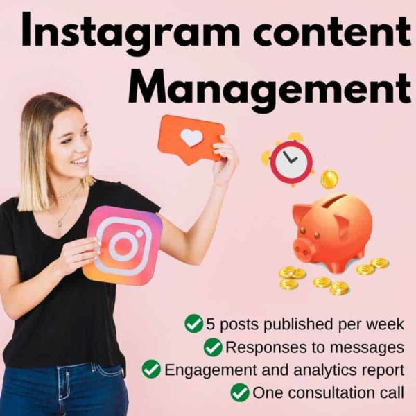 Instagram Content Management Deals