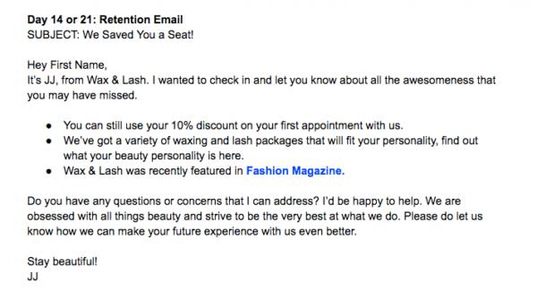 LA Email Drip Campaign
