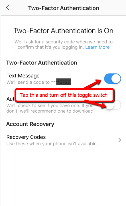 how-to-turn-off-two-factor-authentication-instagram