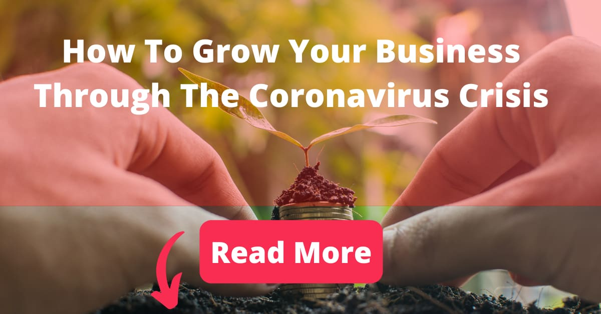 1200 x 628 Social Uplifted Blog Banner How To Grow Your Business Through The Coronavirus Crisis